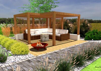 Ogród z kubikami